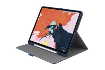 "Cygnett TekView Slimline Case with Apple Pencil Holder for iPad Pro 12.9"" - Navy/Blue (CY2708TEKVI)"