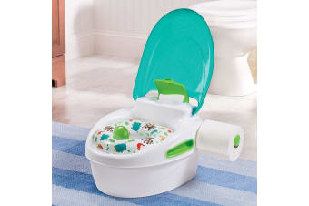 Step by Step Potty in Green
