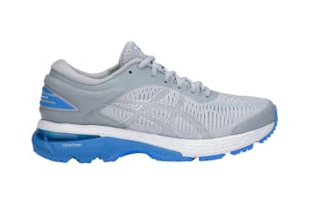 ASICS Women's  Gel-Kayano 25 Running Shoe (Mid Grey/Blue Coast, Size 5)