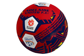 Summit Official A-League Team Adelaide Football Club United Size 5 Soccer Ball