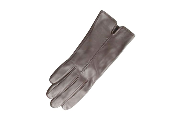 Eastern Counties Leather Womens/Ladies Tess Single Point Stitch Gloves (Black) (S)