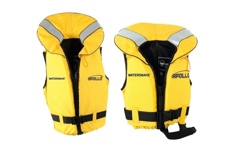 Watersnake Apollo Adult or Child Life Jacket - Level 100/Type 1 PFD Size:Small Adult