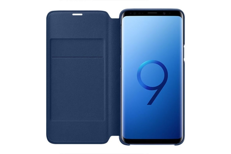 Samsung Galaxy S9 LED View Cover - Blue