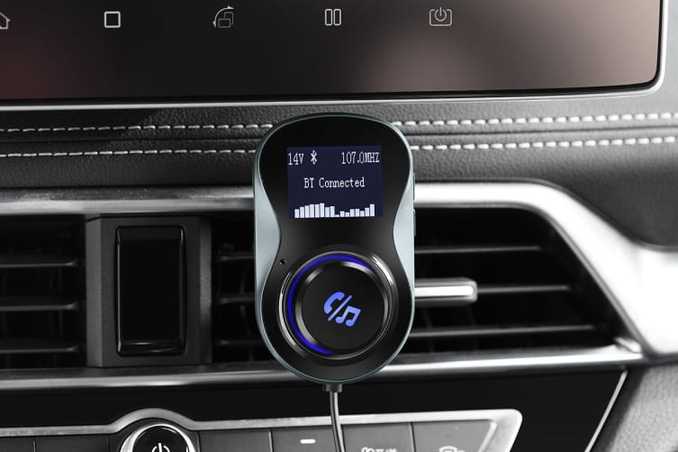 Kogan Vent Mounted Bluetooth FM Transmitter