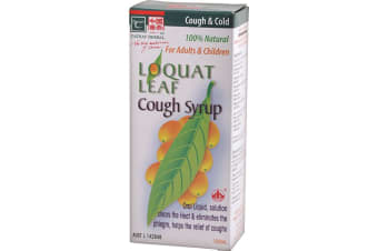 Cathay Herbal Loquat Leaf Cough Syrup 150ml
