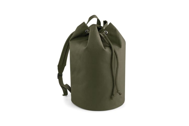 Bagbase Original Drawstring Backpack (Military Green) (One Size)