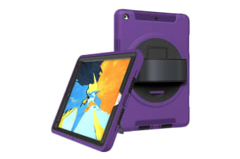 Shockproof Military Heavy Duty Case Cover For iPad Pro 12.9 Inch 2018-Purple