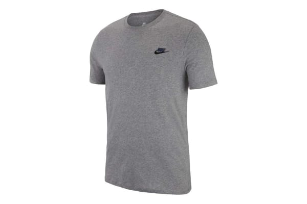 Nike Men's Futura Tee (Carbon Heather, Size L)