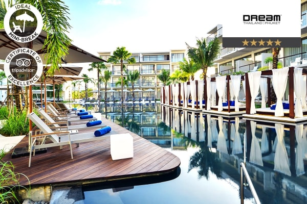 PHUKET: 5 Nights at Dream Phuket Hotel & Spa for Two (High Season)