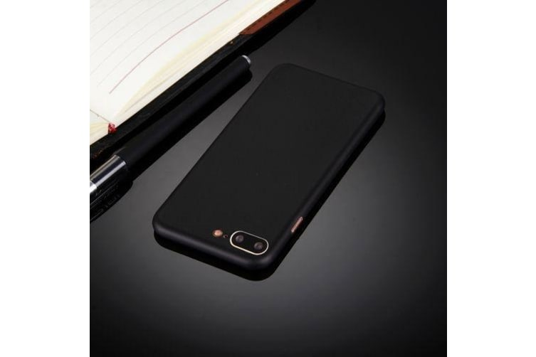 For iPhone 8 PLUS 7 PLUS Case Elegant Ultra-thin Super-light Durable Cover Black