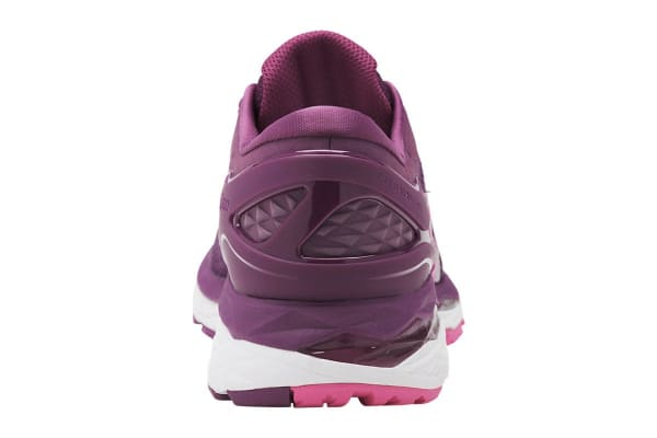 ASICS Women's Gel-Kayano 24 Running Shoe (Prune/Pink Glow/White, Size 6.5)