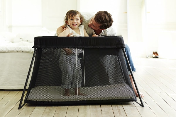 BabyBjorn Travel Cot Light (Black Mesh)