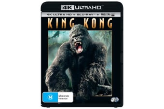 King Kong 4K Ultra HD Blu-ray Digital Download UHD Region B
