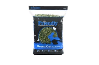 Friendly Green Oat Readigrass Small Pet Food (May Vary) (4 x 1kg)