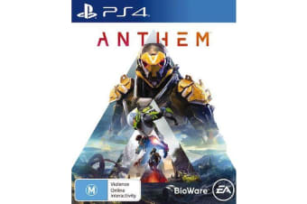 ANTHEM PS4 PlayStation 4 Game - Disc Like New