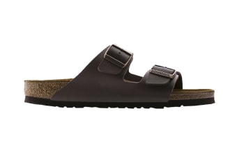 Birkenstock Arizona Birko-Flor Sandal (Dark Brown, Size 43 EU)