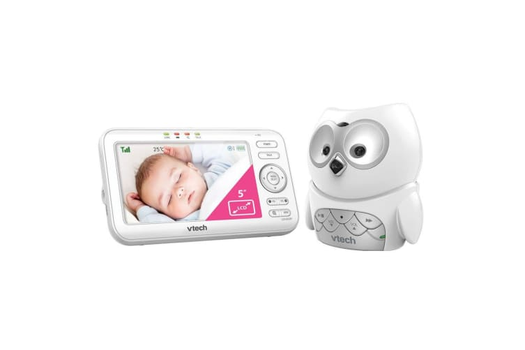 "Vtech BM5100-OWL 5"" LCD Video/Audio Monitor Mountable Night Safety Baby Camera"