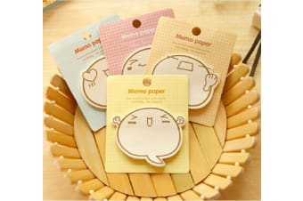 Cute Cartoon Planner Bookmark Marker Memo Sticky Notes Note pad Check List Paper