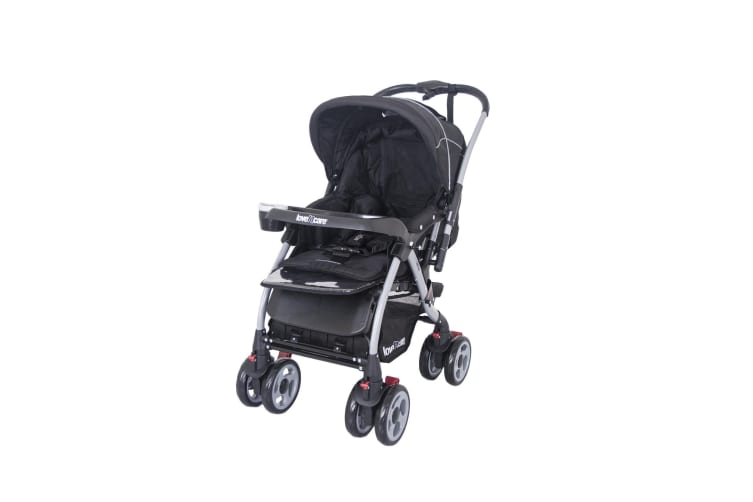 Love N Care Mirage Baby Stroller Pram Nero