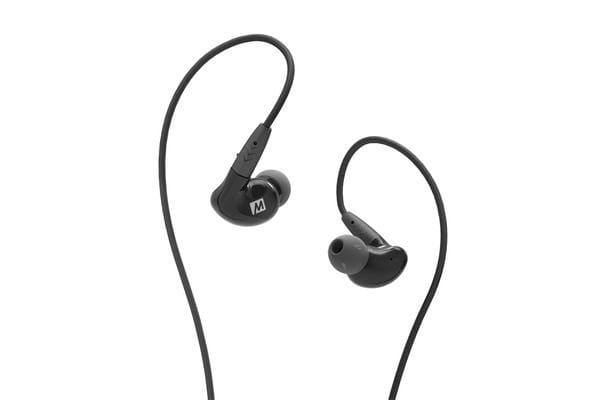 Mee Audio Pinnacle P2 In-Ear Monitors - Black - High-fidelity Audiophile In-Ear Headphones with