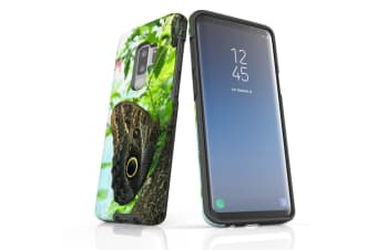 For Samsung Galaxy S9+ Plus Case Armour Cover  Butterfly Tree