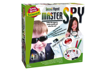 Secret Agent 4-in-1 Master Spy Kit | Become a Spy & Detective!