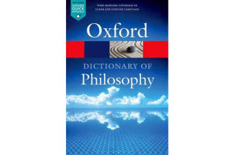 The Oxford Dictionary of Philosophy