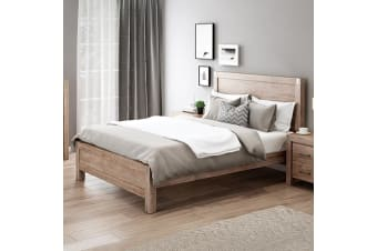 Nowra King Single Bed Oak