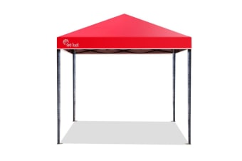 Red Track 3x3m Folding Gazebo Shade Outdoor Pop-Up Red Foldable Marquee
