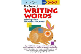 My Book of Writing Words - Consonants andVowels