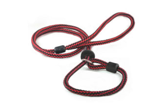 The Animate Company Outhwaites Harlequin Rope Slip Lead (Red/Black)