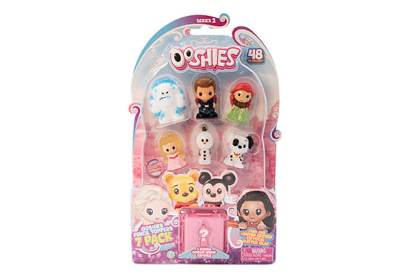 Ooshies Disney Princess Assorted 7 Pack