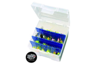 Flambeau 550 Large Big Mouth Spinnerbait Box - Lure Box with Zerust Dividers