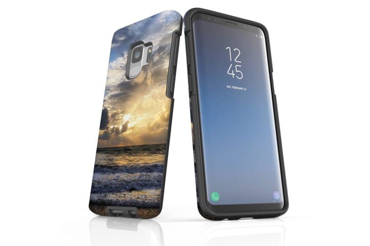 For Samsung Galaxy S9 Case Armour Cover  Romantic Sunset