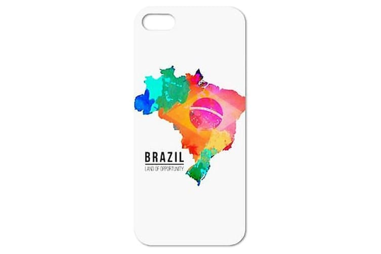 For iPhone 6S PLUS 6 PLUS Case Colorful Brazil Durable Shielding Cover