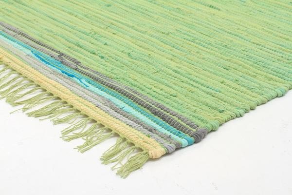 Boho Whimsical Rug Green 270x180cm