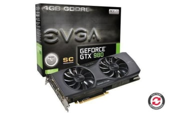Refurbished EVGA GeForce GTX980 4GB SC Version PCI-E 3.0 Video card