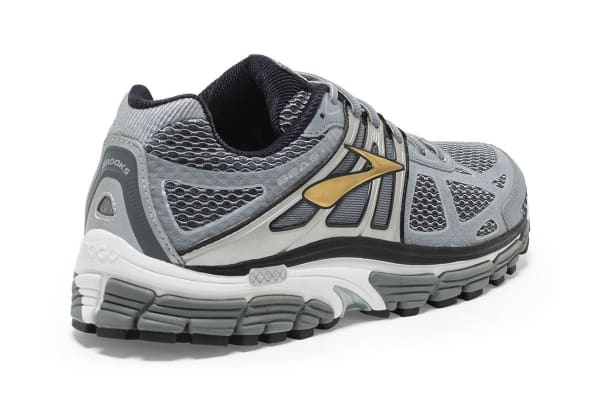 Brooks Men's Beast 14 Shoes (Silver/Black/Gold, Size 9)