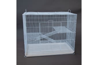 3 Tier Pet Cage for Cat Ferret Guinea Pig Hamster Rat Sugar Glider Chinchilla 60x40x60cm