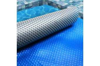 Solar Swimming Pool Cover 500 Micron Outdoor Bubble Blanket 10M X 4M