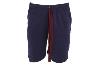 Cargo Bay  Mens Lounge Shorts (NAVY) (S)