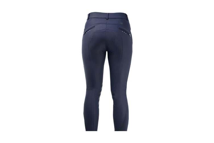 HyPERFORMANCE Womens/Ladies Thermal Softshell Breeches (Navy) (28in)