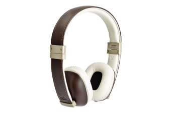 Polk Hinge On-Ear Headphones (Brown)