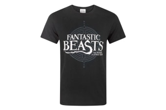 Fantastic Beasts And Where To Find Them Mens Logo T-Shirt (Black)