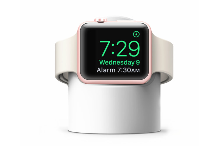 Wireless Magnetism Absorbing Charger Suitable For 1,2,3, 4 Generation Of Iwatch - White White