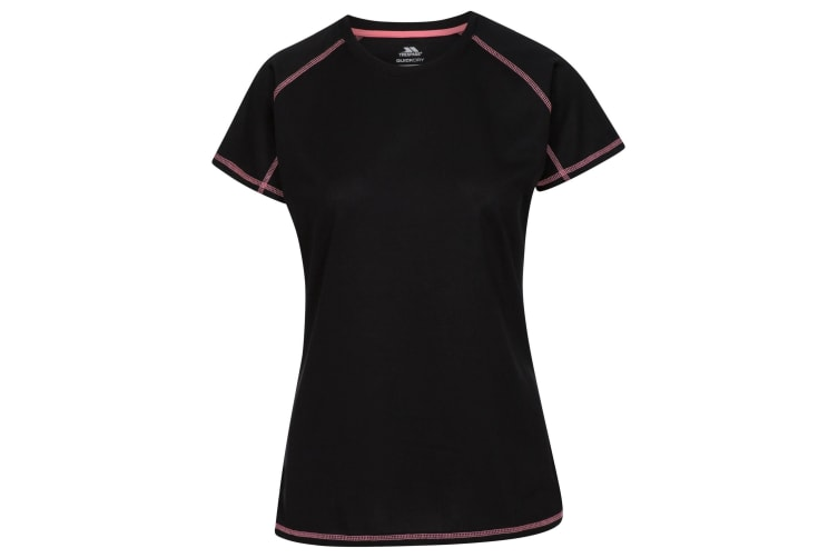 Trespass Womens/Ladies Viktoria Active T-Shirt (Black) (XL)