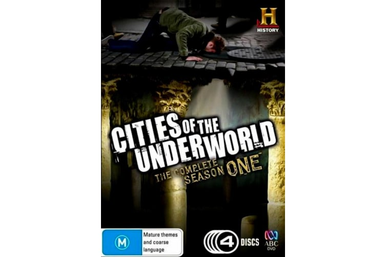 Cities Of The Underworld: Season 1 - Series Region 4 Rare- Aus Stock Preowned DVD: DISC LIKE NEW