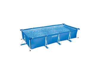 Intex 3m x 2m x 75cm Above Ground Rectangular Frame Family Swiming Pool