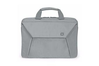 "Dicota Slim Case EDGE carry bag with shoulder strap for 12.1"" - 13.3""  Notebook /Laptop (Grey) Euro"