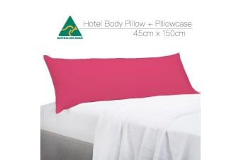 Hot Pink Color Aus Made Full Long Body Pillow Body